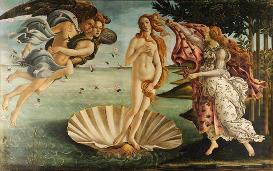 «Рождение Венеры» (Сандро Боттичелли)