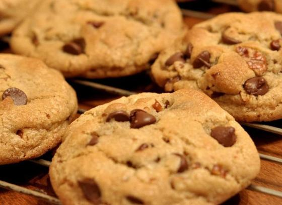 Домашнее печенье с тыквой и шоколадом