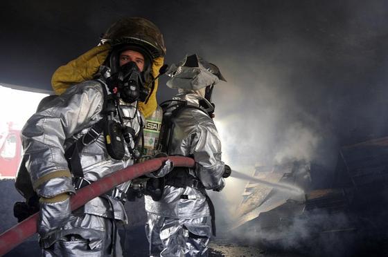 Пожар произошел в мансардном доме в Нур-Султане