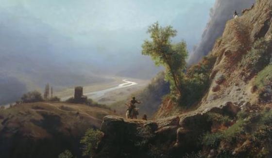 Кавказ в рассказе Толстого «Кавказский пленник»
