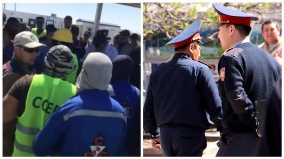 Полиция не нашла притонов на Тенгизе