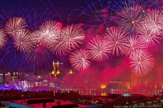 Где посмотреть праздничный салют на 16 декабря в Астане
