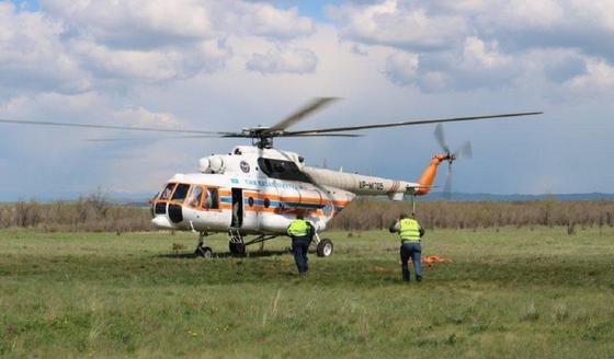 Стали известны подробности инцидента с вертолетом с Маминым и Сапарбаевым на борту