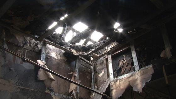 Пожар в ателье в Павлодаре