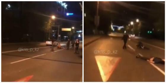 Стали известны подробности наезда на толпу людей в Алматы