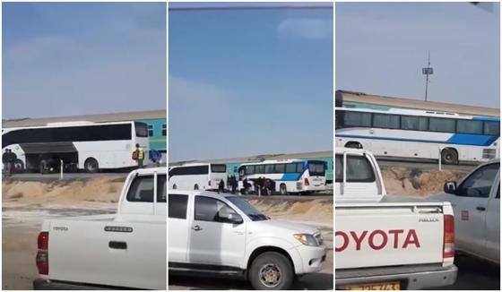 Около 3 тыс. человек вывезли с месторождения Тенгиз (видео)