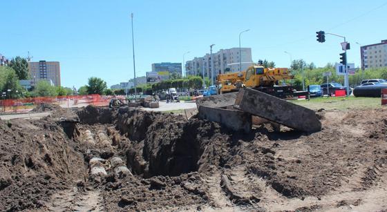 Масштабная реконструкция теплосетей проводится в Караганде