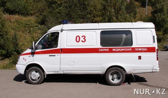 На бригаду скорой помощи напали в Нур-Султане