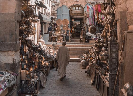 Базар в Египте