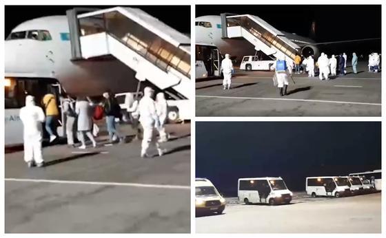 Қазақстан Қытайдан тағы 211 адамды Алматыға эвакуациялады (видео)