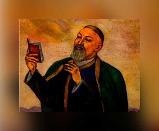 Абай Кунанбаев читает стихи