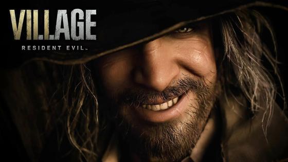 Бородатый мужчина в шляпе. «Resident Evil Village»