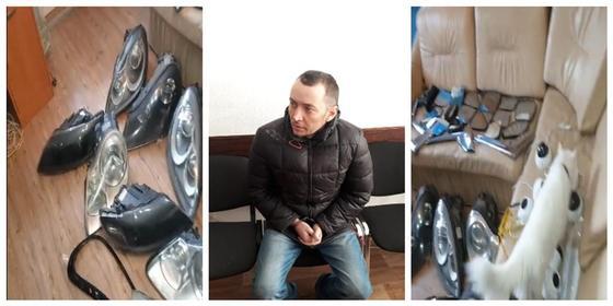 Воровал зеркала и срывал камеры: автовора задержали с поличным в Нур-Султане (видео)