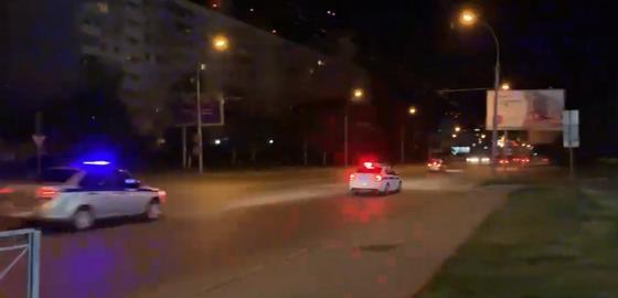 Таксист устроил заезд с полицией в стиле GTA и попал на видео