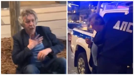 Михаил Ефремов попал в ДТП в нетрезвом виде в Москве (фото)