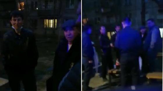 Алматинцы устроили пьянку на улице во время карантина, а потом напали на полицейских