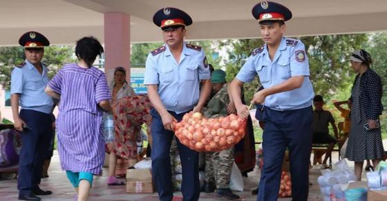 5 тонн продуктов изъяли у вернувшихся домой жителей Арыси