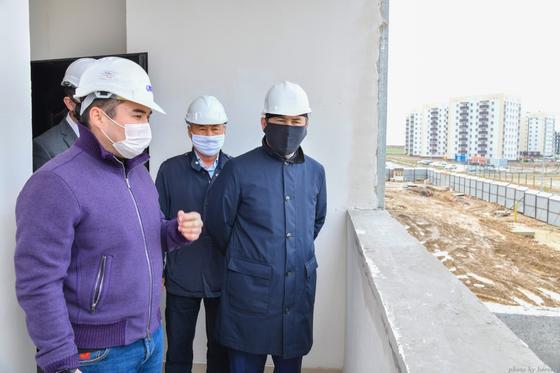 Темпы строительства в Шымкенте сохранились