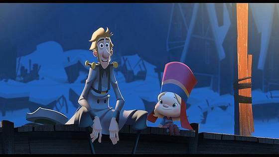 Кадр из мультфильма «Клаус»