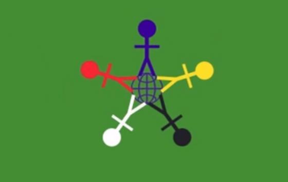 Флаг Дня защиты детей