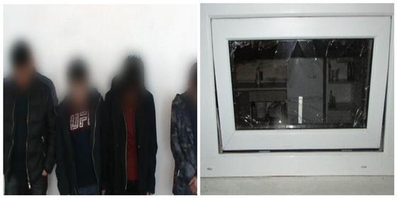 Четверо студентов разбили стекла киосков в Центральном парке Нур-Султана (видео)