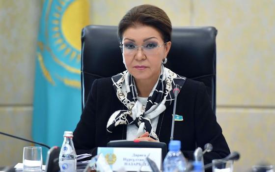 Дарига Назарбаева. Фото senate.parlam.kz