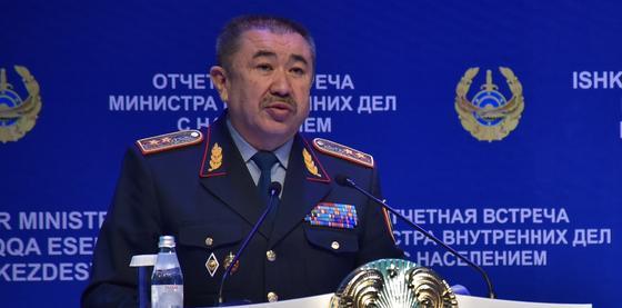 Тургумбаев назвал подразделения МВД, наиболее подверженные коррупции