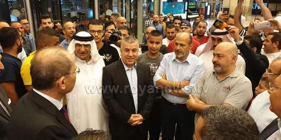 Пострадавшие в Казахстане иорданцы вернулись в Амман (фото)