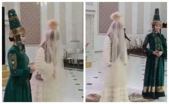 Пользователей сети возмутил новый обряд на свадьбе