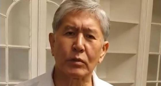 Алмазбек Атамбаев. Фото: видеодан кадр