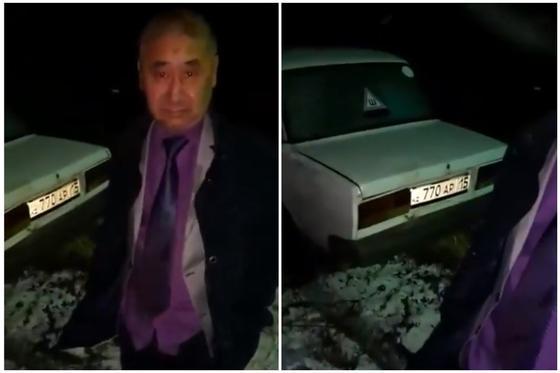 В пьяном виде снес забор: скандальное видео с акимом из СКО появилось в Сети