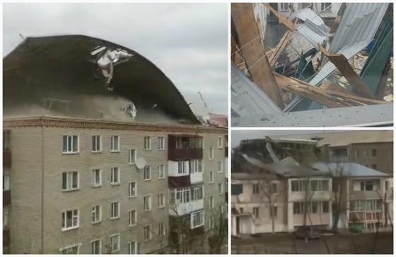 Список разрушенных ураганом домов, больниц и школ озвучили в Акмолинской области