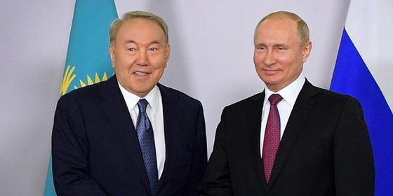 «Есть все основания сказать ему спасибо»: Путин прокомментировал отставку Назарбаева