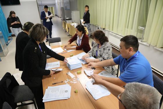 ЦИК объявил предварительные результаты выборов президента