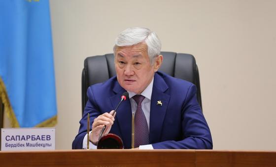 Бердибек Сапарбаев вышел из режима самоизоляции
