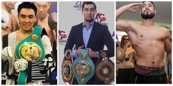 7 из 7: казахстанцы выиграли все бои на вечере бокса в Алматы