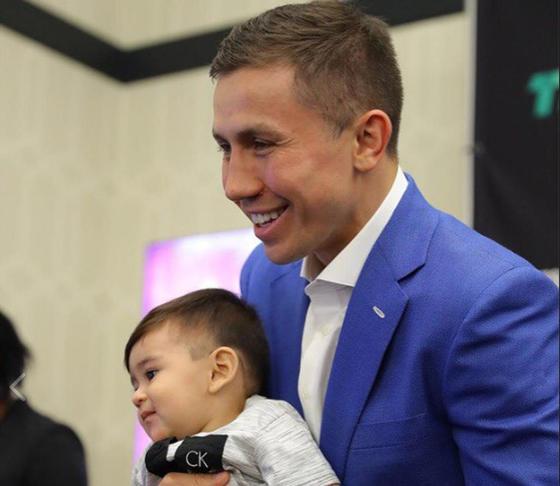 Аргентинский фанат Головкина назвал в его честь сына (фото)