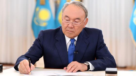 Закон о едином совокупном платеже подписал Назарбаев