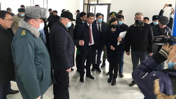 Встреча представителей Казахстана и Кыргызстана