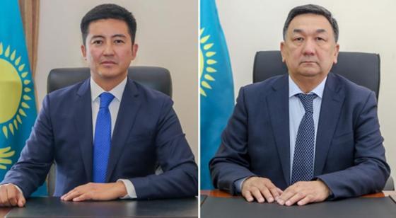 Мұхтар Мәңкеев, Серік Егізбаев. Фото: БҚО әкімдігі