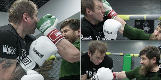 Емельяненко заявил, что Кадыров жестко побил его (фото)