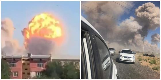 Взрыв в Арыси: на эвакуацию жителей города отправили 50 автобусов