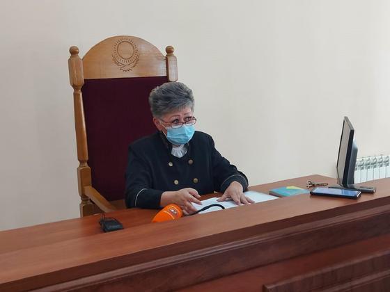 судья Наиля Джунусова