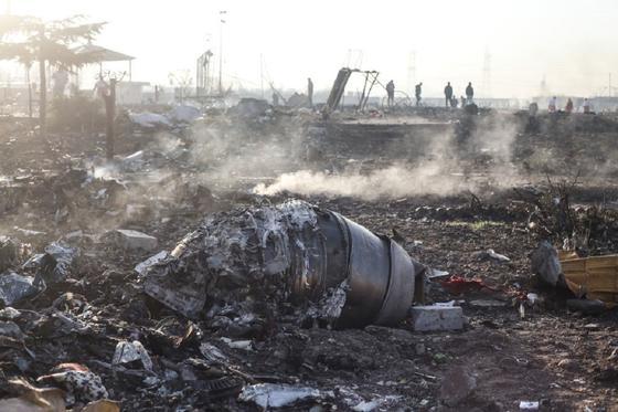 КСИР признал ответственность за крушение украинского самолета под Тегераном
