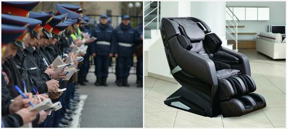 Түркістан полицейлері 422 мың теңгенің массаж креслосын не мақсатта алғаны белгілі болды