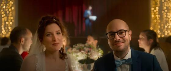 Новобрачные. Кадр из фильма «Тост»