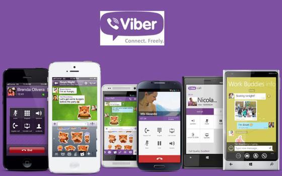 Viber на разных устройствах