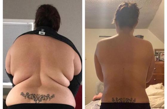 """Девушка сбросила 63 килограмма и избавилась от """"друзей"""", которые над ней смеялись (фото)"""