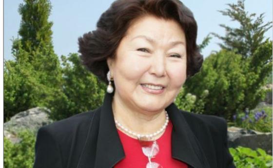 Сара Назарбаева туған күнін тойлауда