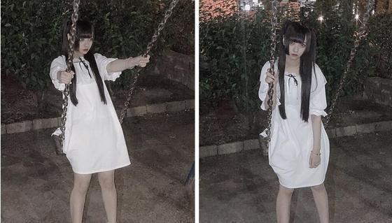 Девушка хотела сделать милое фото в платье, но лишь напугала себя и весь Twitter